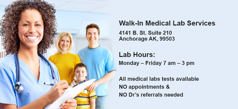 Blood Test Without Doctor in Anchorage, Alaska